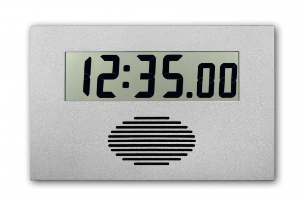 C-75-VLP: Digital wallclcock with 230 Volt, gong and programmable breaktimes - radio-controlled