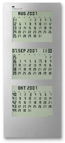 CK-3: Elektronikscher Wandkalender für Jahrzehnte, 3-monatige Darstellung