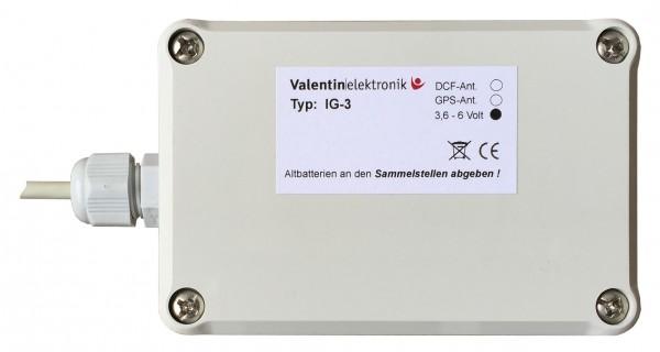 IG-3: GPS/DCF Steuerung für 2 Nebenuhrenwerke
