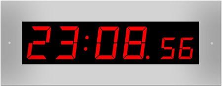 L-57-38: LED-Einbau-Uhr mit Sekundenanzeige