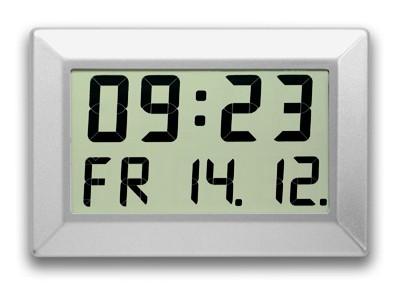 C-310-M: LCD-Digitaluhr für große Räume