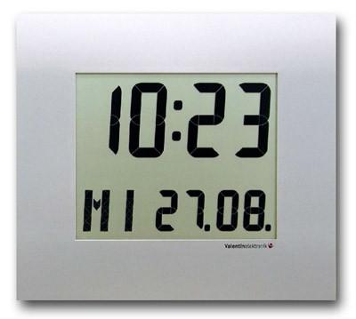 C-150-M: LCD-Wanduhr für große Räume
