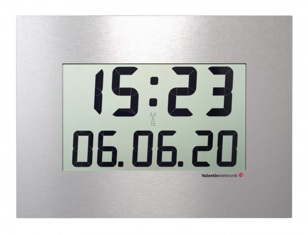 C-410-M: LCD-Wallclock for large rooms