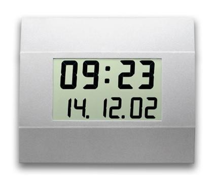 C-410-M: LCD-Wanduhr für große Räume